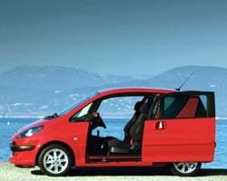 Provkörning av Peugeot 1007