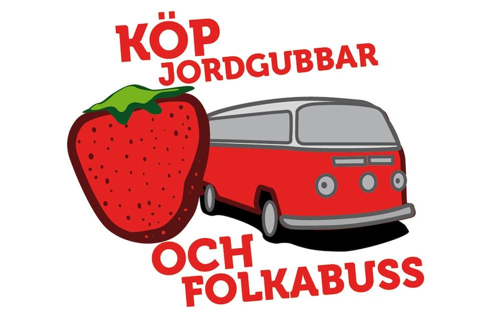 110531-jordgubbar vw-buss