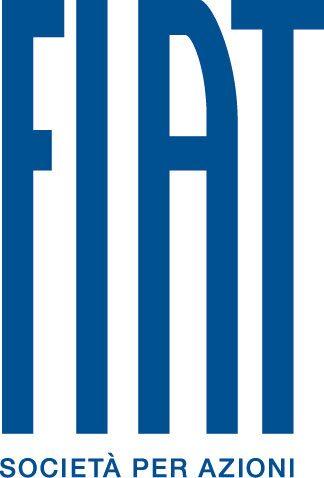 Logotypen för Fiat SpA som är nya personbilsdivision från och med 1 januari 2011.