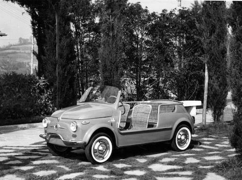 Originalet Fiat 500 Spiaggina tillverkades 19581965.