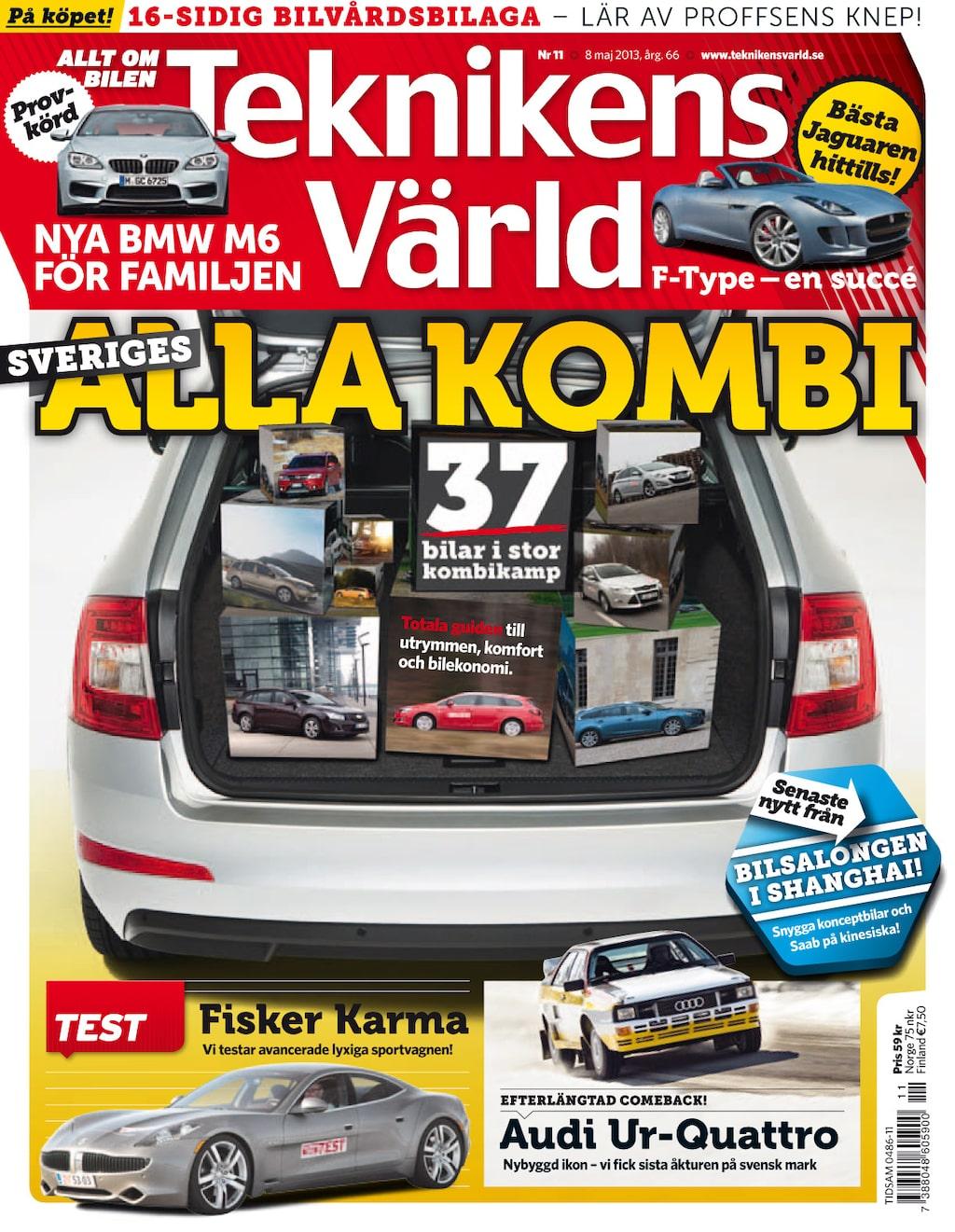 Teknikens Värld nummer 11 / 2013