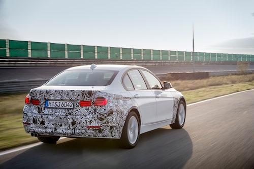 Maskeringen har inget med hybridtekniken att köra. Den döljer bara en snar facelift.