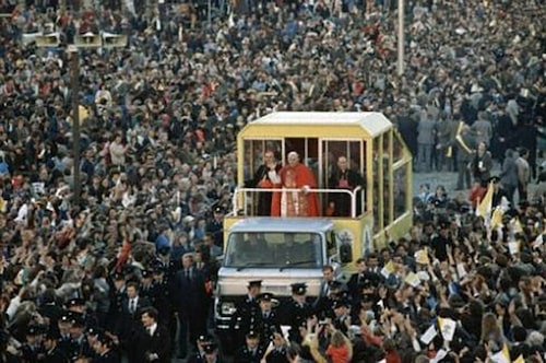 1979 Ford Transit, påve Johannes Paulus II