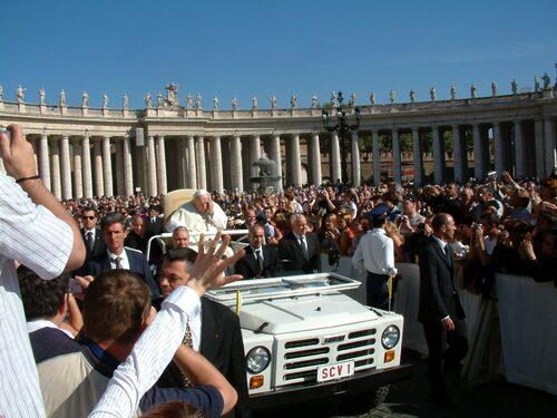 2004 Fiat Campagnola, påve Johannes Paulus II