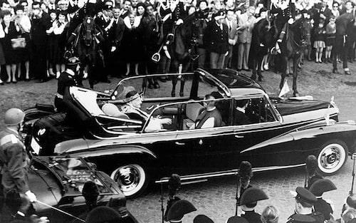 1960 Mercedes 300D, påve Johannes XXIII