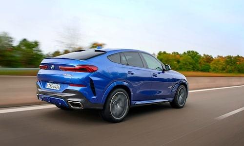 Bilen som skapade ett eget segment. X6 är inne på sin tredje generation. Nederkanten av bakrutan sitter högre än i X5 och bidrar till dålig sikt bakåt.