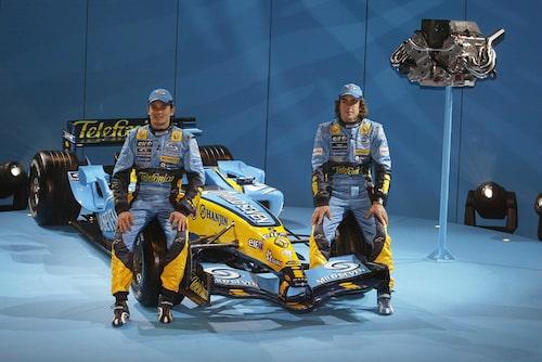 2005. 2002 var Renault tillbaka som fabriksteam. Fernando Alonso blev världsmästare 2005 och 2006.