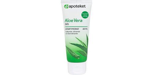 Svalkande aloe vera-gel från Apoteket.