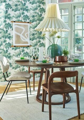 Bord Bolia Wake | Scandi dining room, Living dining room