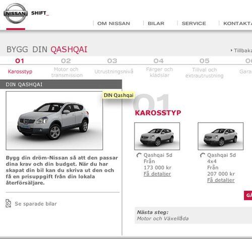 Plats 4. Nissan