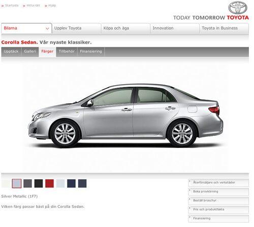Plats 7. Toyota