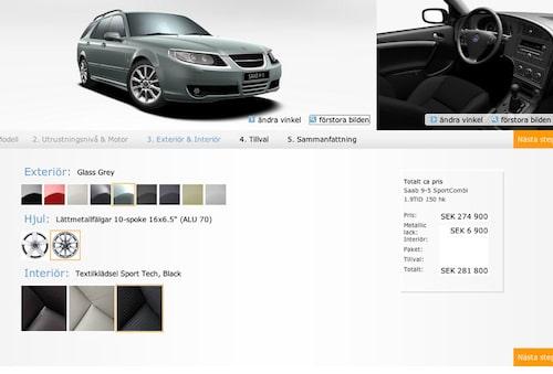 Plats 5. Saab