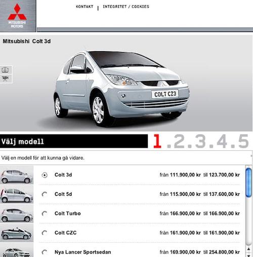 Plats 8. Mitsubishi