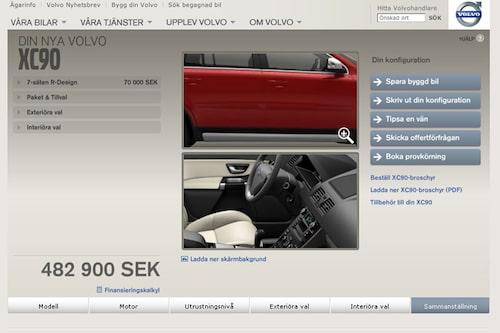 Plats 1. Volvo