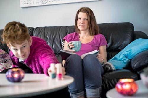 Emma hamnade på psykakuten efter slitsamma år med en son som har mild autism.