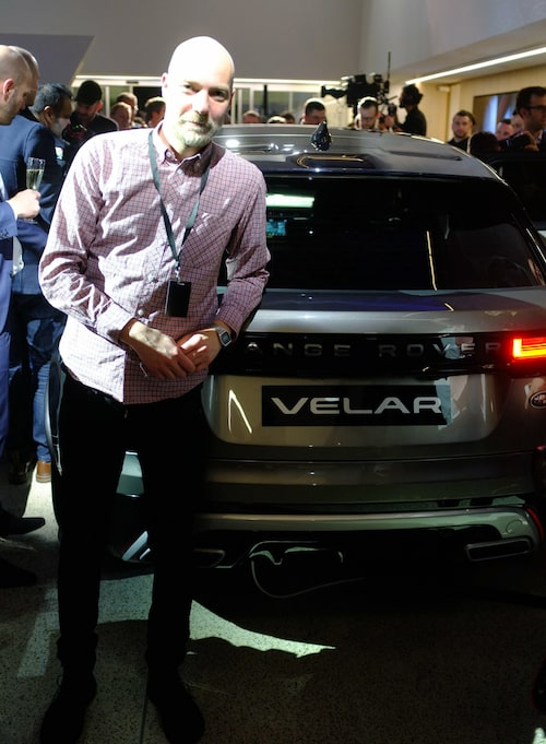 Teknikens Värd var, i form av Peter Klemensberger, på plats på London Design Museum i går kväll för att bevittna världspremiären av nya Range Rover-modellen Velar.