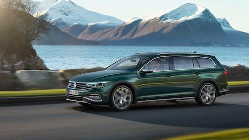 Volkswagen Passat Alltrack 2020 facelift