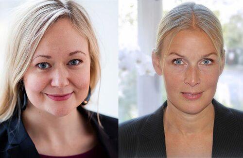 Sofia Rasmussen och Viktoria Höglund uppfyllde sin dröm under föräldraledigheten.