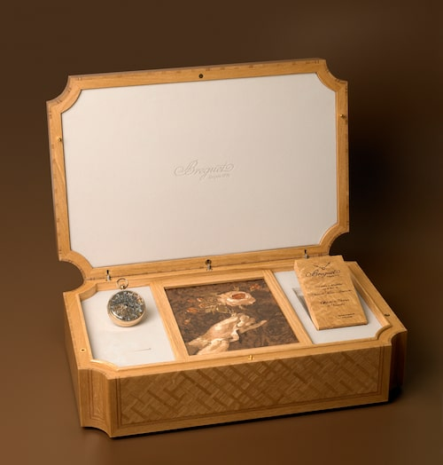 Marie Antoinettes klocka återskapd av Breguet.
