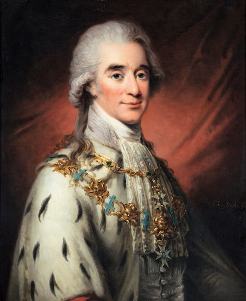Axel von Fersen avmålad 1800 av Carl Fredric von Breda