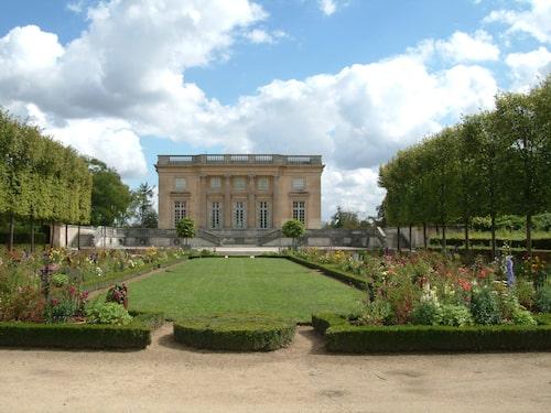 Lustslottet Petit Trianon där Marie Antoinette brukade träffa Axel von Fersen i Versailles.