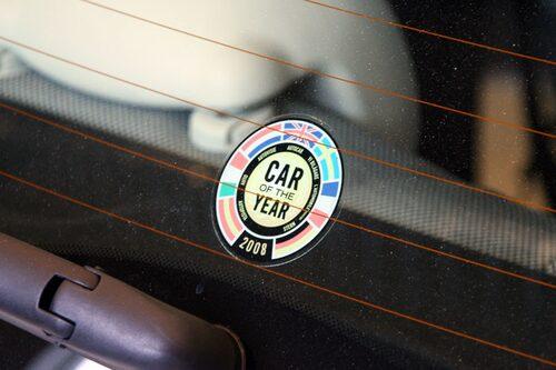 Fiat 500 utsågs till Årets Bil 2008.