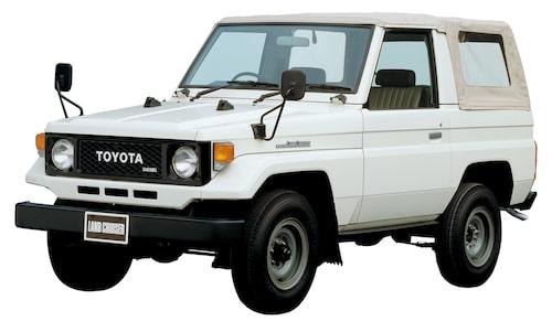 1984 Toyota Land Cruiser J70