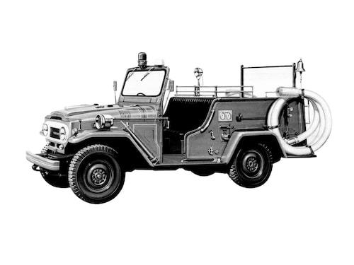 1963 Toyota Land Cruiser J40