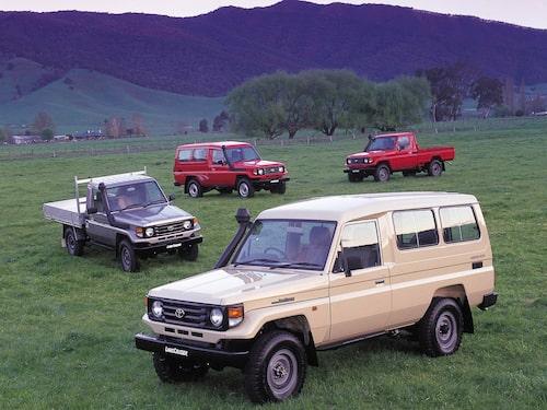 1999 Toyota Land Cruiser J78