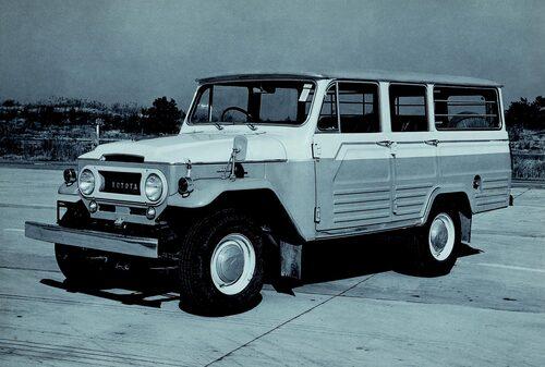 1961 Toyota Land Cruiser J40