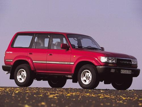 1990 Toyota Land Cruiser J80
