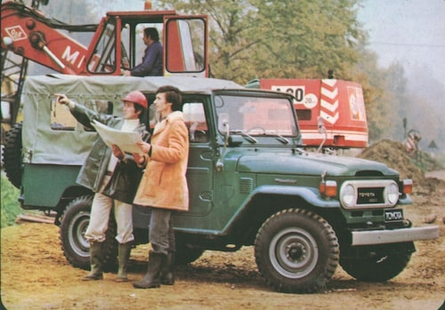 1978 Toyota Land Cruiser J40