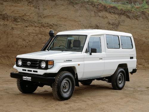 2001 Toyota Land Cruiser J78