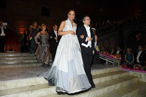 Alice Bah Gunke i en uppmärksammad look på Nobelfesten 2018.