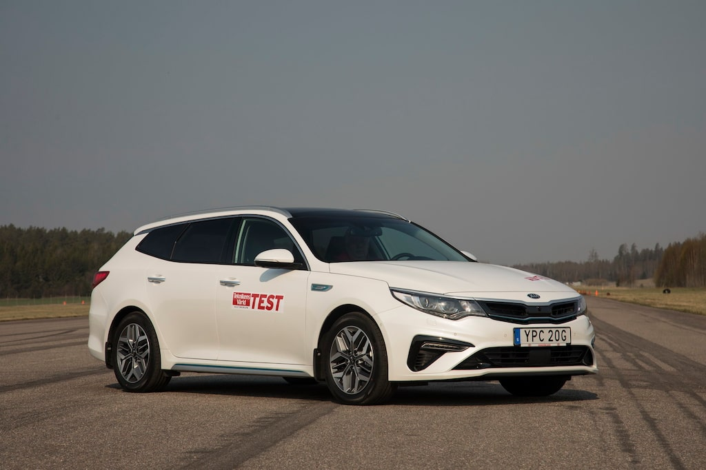 Kia Optima SW Plug-In Hybrid Advance Plus (D-segment)