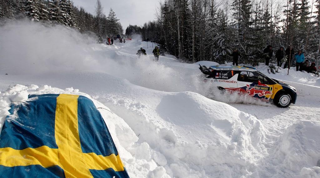 Sébastien Loeb i Svenska Rallyt 2011