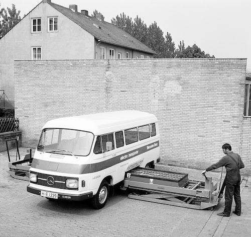 Mercedes LE 306 från 1972.