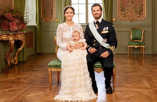 Prins Alexanders dop. Foto: Mattias Edwall/Kungahuset.se