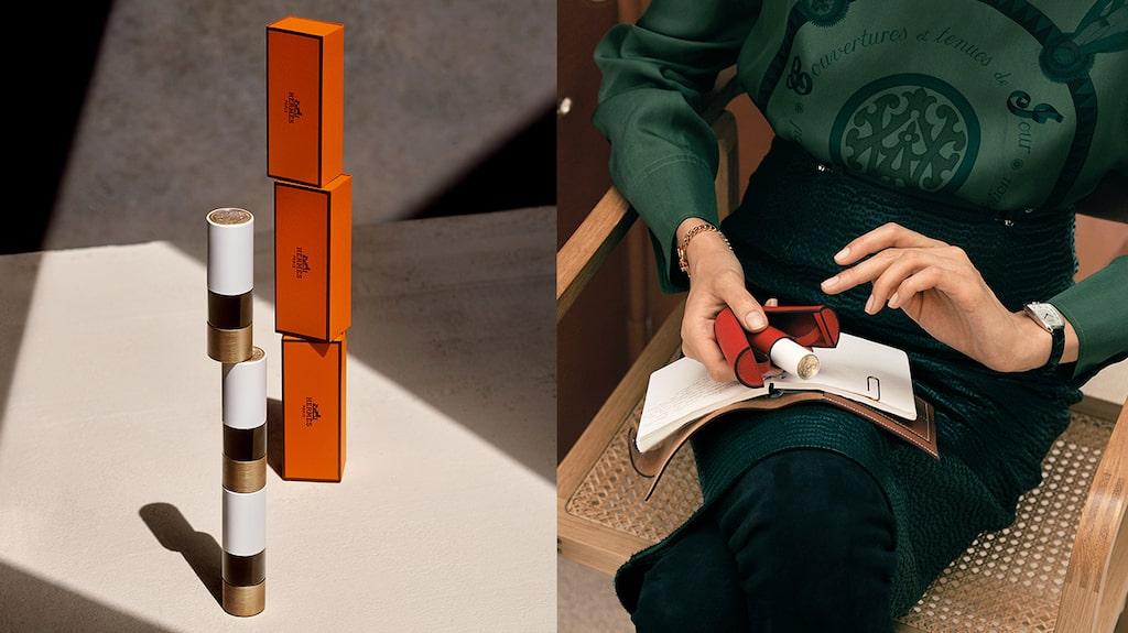Hermès lanserar exklusiva läppstift, den första kategorin i deras kommande sminkmärke.