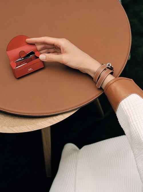 I Hermes Beauty kommer du även kunna köpa läderaccessoarer.