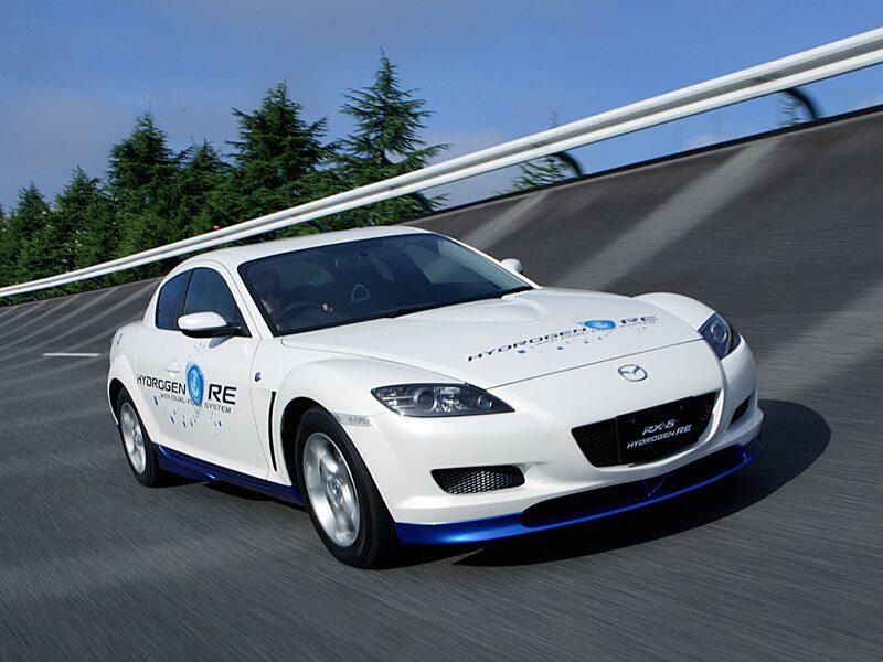 Provkörning av Mazda RX-8 Hydrogen