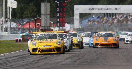 Porsche Carrera Cup Scandinavia ingår också i SRL-organisationen.