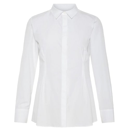 Lång, vit skjorta från J. Lindeberg.