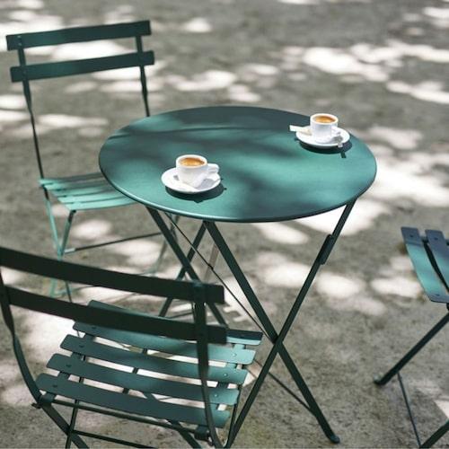 Bistrostol och -bord från Fermob.