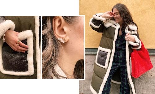 Med en bekväm basgarderob tipsar Emma om att klä upp eller ner med accessoarer.