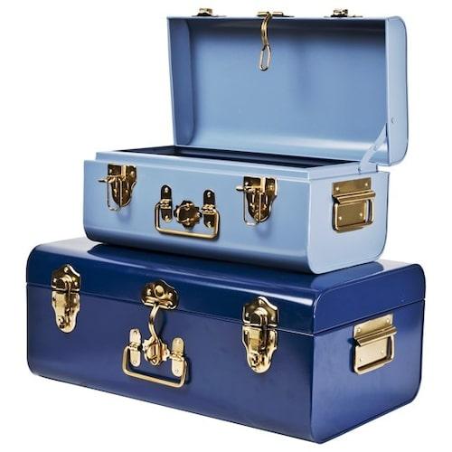 Vackra kistor med lås, perfekta för barnens alla skatter.