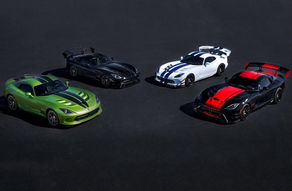 Fyra av de fem specialmodeller som presenterades i förra veckan