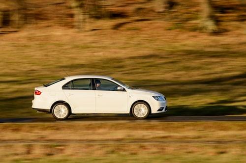 Linjerna kan beskrivas som en nättare VW Jetta.