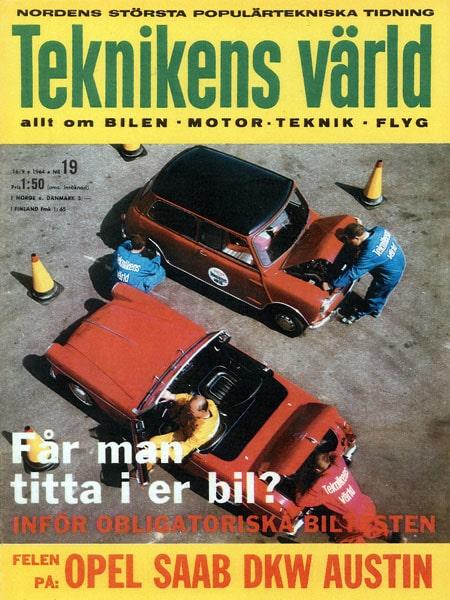 Teknikens Värld nummer 19 / 1964