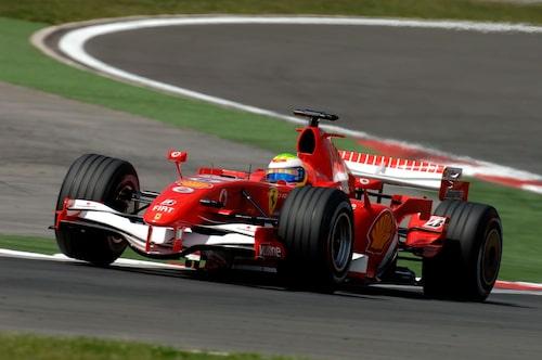 Felipe Massas första seger i Formel 1 kom i Turkiet 2006 för Ferrari.